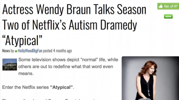 Season 2 of Atypical (Netflix)